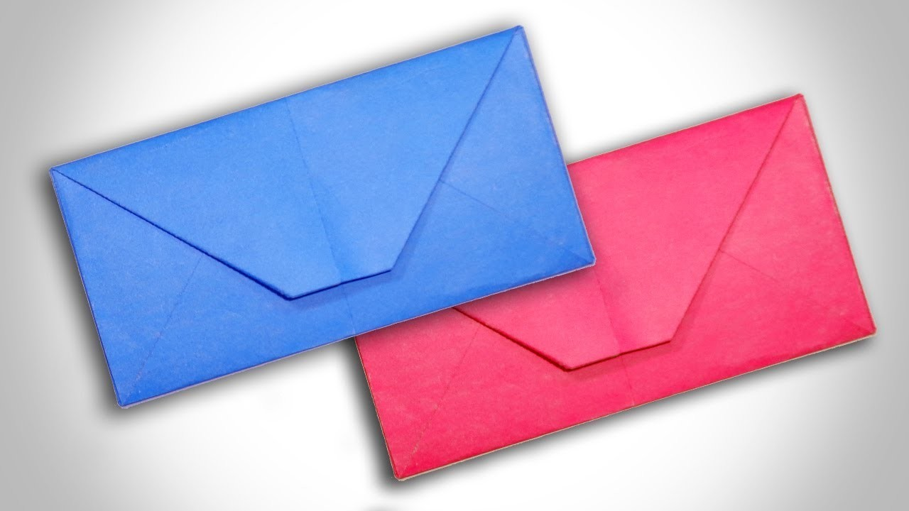 How To Make A Paper Envelope From A4 Size Paper Without