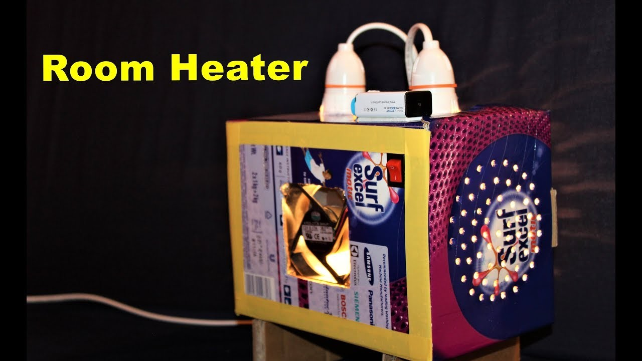 How to make a Room Heater at Home