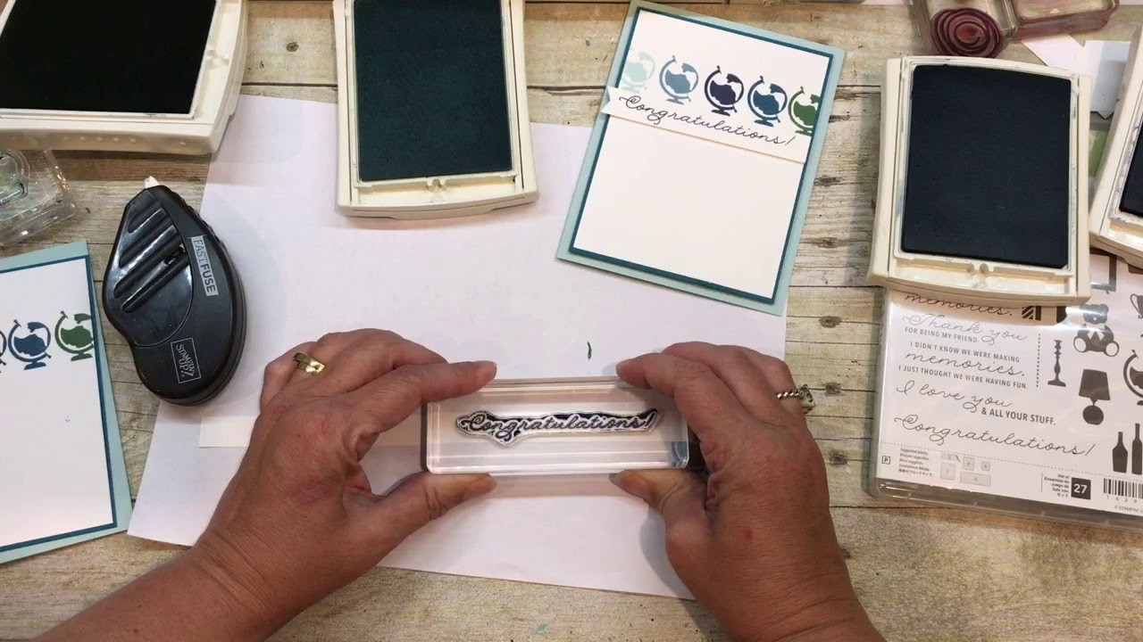 How to make a simple Congratulations Card