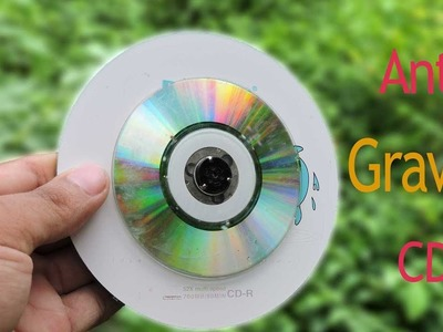 How To Make Anti Gravity CD Wheel