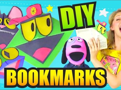 HOW TO MAKE BOOKMARKS - Crafts for Kids