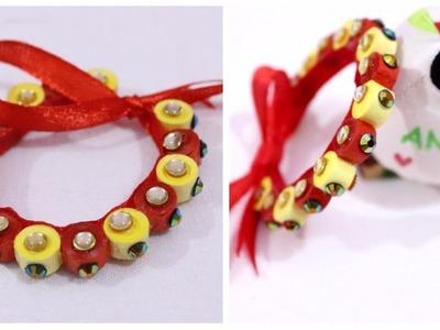 How to make bracelet at home I Quiling paper bracelet I DIY I Creative Diaries