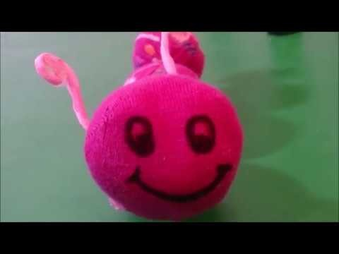 HOW TO MAKE DIY PUPPET FROM OLD SOCKS  Recycled Arts & Crafts