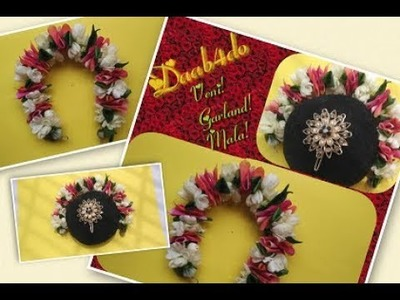 How to make Garland || Veni || Mala || without needle and thread