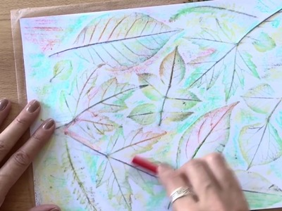 How to Make Leaf Rubbing Art