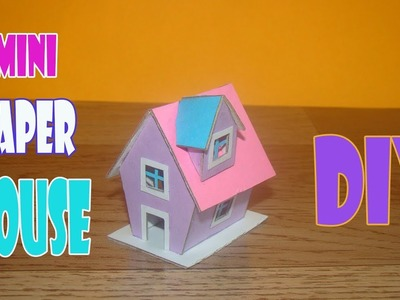 How To Make Mini Cardboard House For Kids 2