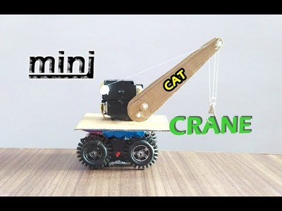 How to make mini RC Crane at home for kids