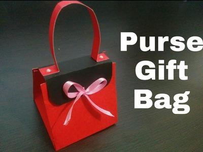 How to Make Purse Gift Bag | Handmade Purse