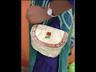 How to make Sling Bag at home (HINDI)