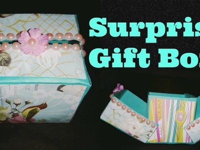 How to make Surprise Gift Box || Birthday Gift Ideas
