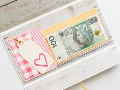 How to make :  Wedding Gift Envelope  | Prezent Ślubny Koperta - Mishellka #250 DIY