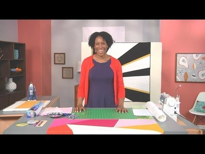 How to Use Freezer Paper to Paper Piece a Large-Scaled Design – As Seen on Fresh Quilting