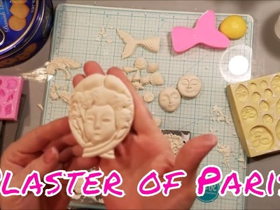 How to Use Plaster Of Paris - Molding.In Molds (Products listed below)