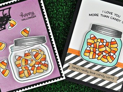Intro to How You Bean? Candy Corn Add On + 2 cards from start to finish