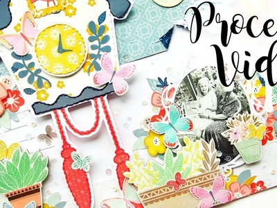 It's The Little Things | Scrapbook Process Video
