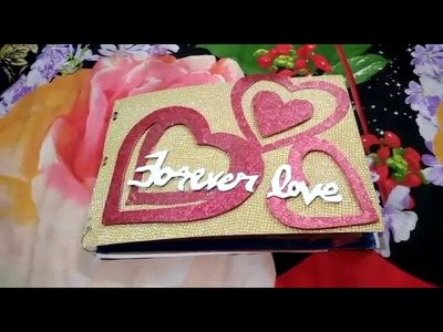 Love Scrapbook for my fiance. my love