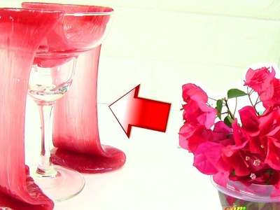 Make SLIME | How to DIY Natural FLOWER-Colored Slime Video  by Rainbow Collector