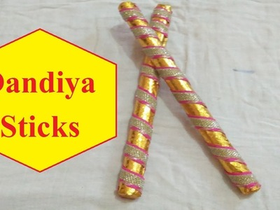 Navratri Special: How to make dandiya sticks at home for kids