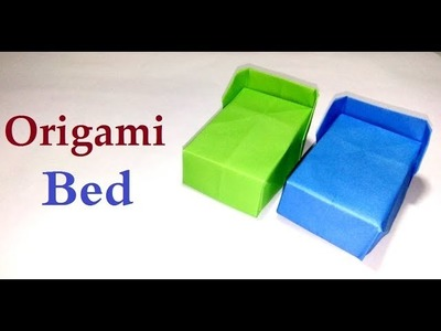 Origami Bed:-How to make an origami Bed easy Making Step-by-Step|Nice Paper Bed Simpley Way