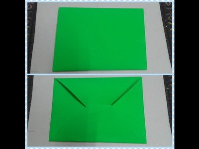 Origami-How To Make Simple Envelope