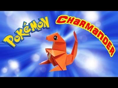 Origami Pokemon Charmander | How to Make a Paper Charmander Tutorial with One Piece of Paper