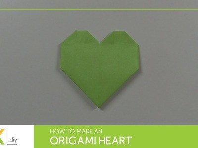 Origami toys #72 - How to make an origami heart II