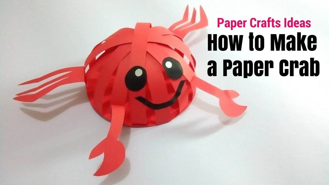 how to make crab in craft