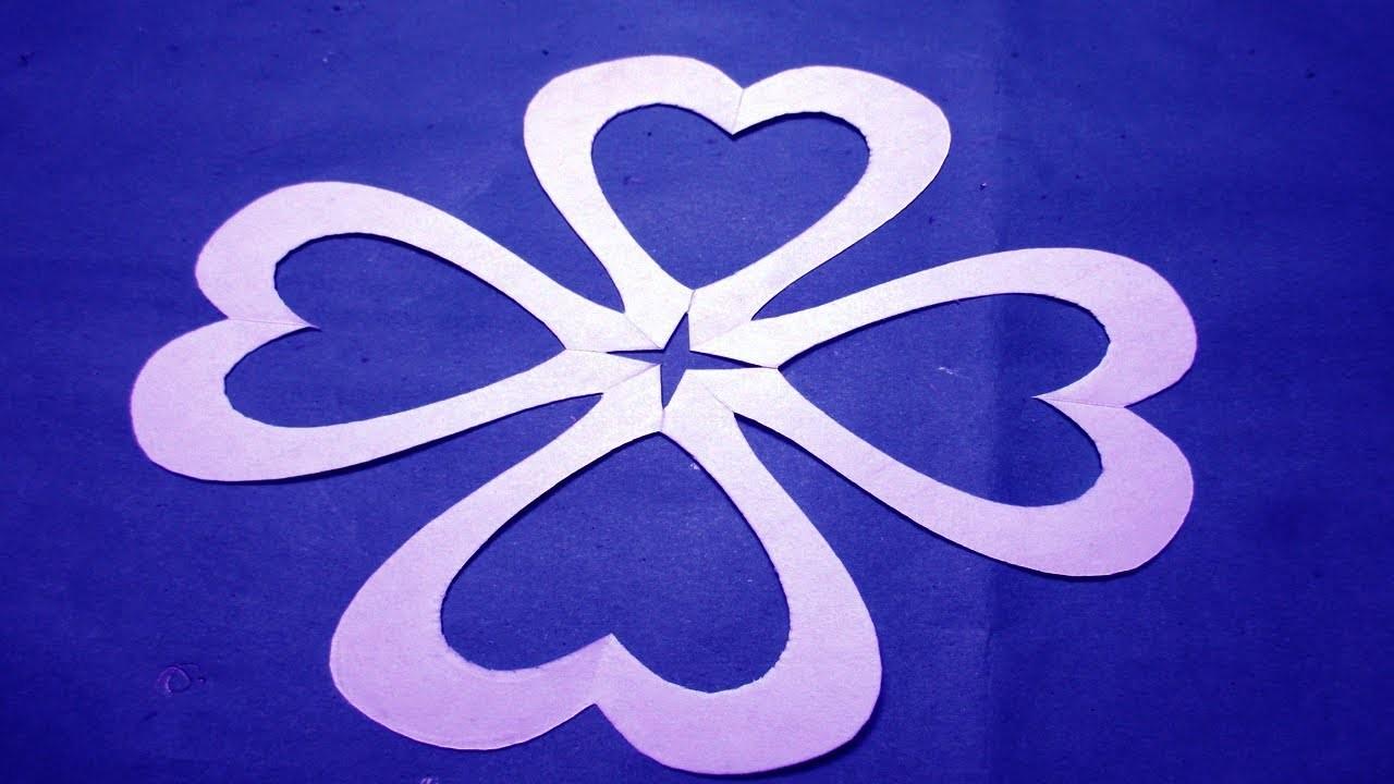 Paper Cutting To Make Paper Cutting Design Flowers 4 Kirigami
