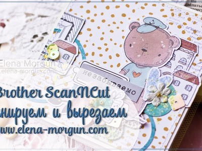 Scanncut | How to Create a Mini Album with Elena Morgun