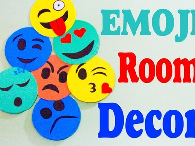 Smiley Emoji Room Decor | How To decorate your room with Old CDs | Recycle your old CDs | Eti's Etc