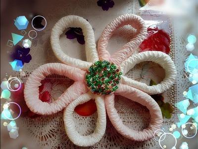 টিস্যু পেপার ফুল ! How to Make Tissue Flowers | Best From Waste | কাপড়ের ফুল তৈরি Learn Cratf
