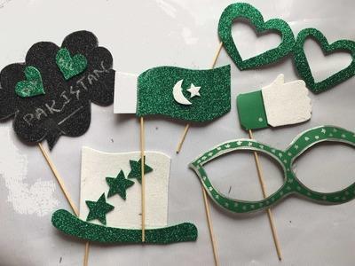 Azadi day props DIY. 14 august props