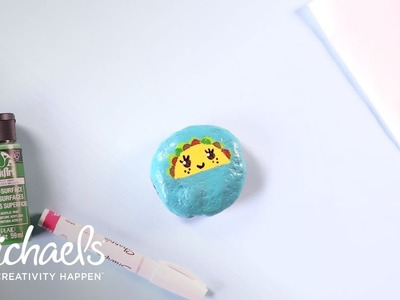 Crafting for Kids: Taco Painted Kawaii Rock | Michaels