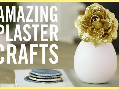 DIY   3 Amazing Plaster Crafts