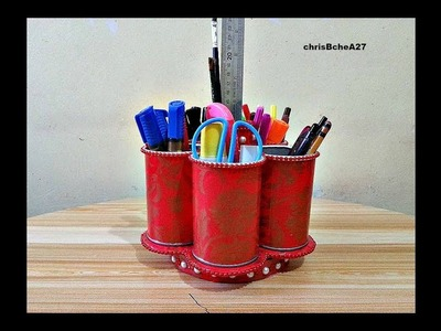 DIY# 68 Rotating Organizer - My Own Idea Without Stick From Recycled