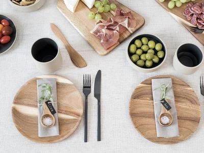 DIY : A table-setting idea by Søstrene Grene