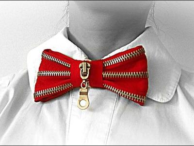 DIY crafts: Bow tie from zipper | DIY Clothes Life Hacks | Maison Zizou