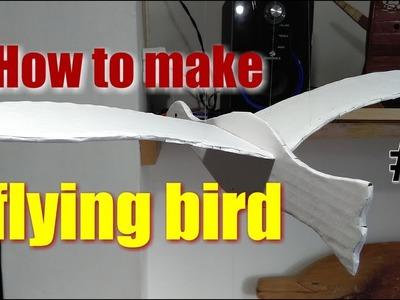 DIY flying bird (part 1)