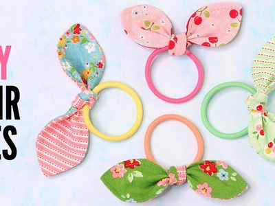 DIY Hair Tie - Quick and Easy with Free Pattern