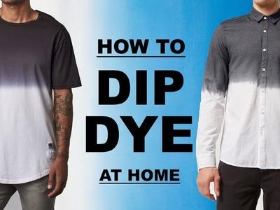 DIY - HOW TO DIP DYE