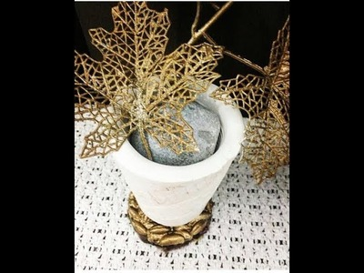 DIY How to reuse Date seeds as decorative items. never see this before