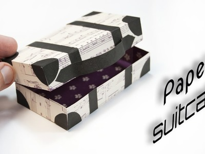 DIY Paper suitcase | Paper crafts