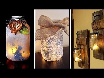 "DIY ROOM DECOR! 38 Easy Crafts Ideas ""Decorative glass bottles"" for Teenagers"