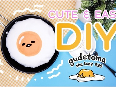 DIY Room Decor | GUDETAMA PLUSHIE | CUTE & EASY! NO SEW!