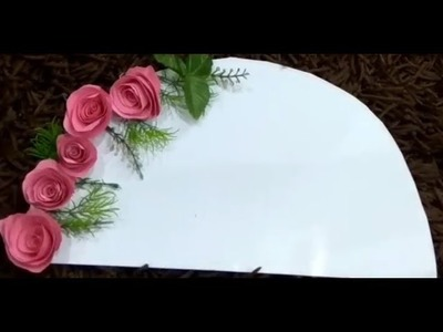 DIY: Rose arch decoration:Parties.Festival.Functions decoration ideas