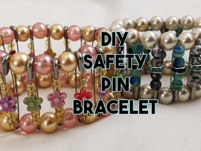 DIY: Safety Pin Bracelet - Craftbrulee