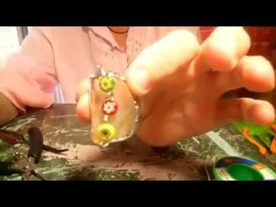 DIY Sea glass Pendant, Part 3