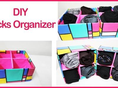 DIY Socks Organizer | How  to organize socks easily