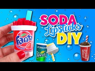 DIY TO DO WHEN YOU ARE BORED Lipstick & Lip Balm  cup of soda - Isa's World