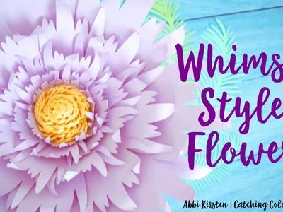 Easy Giant Paper Flower Tutorial - Whimsy Style